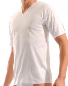 Mariner T-shirt col V Jersey