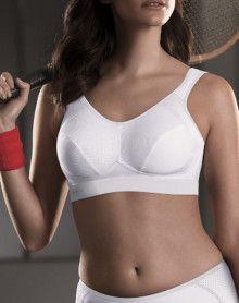 Anita extreme control Sports Bra (White)
