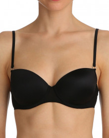 Padded balcony bra Marie Jo Understones (BLACK)