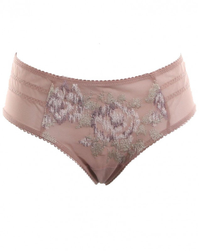 Shorty string Empreinte Rose (ORCHIDÉE)