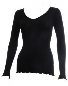 Camiseta mangas longa Oscalito 3486 (Preto)