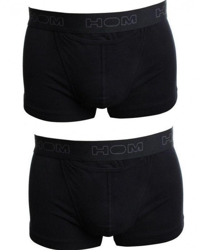 Boxer brief negro HO1 HOM (paquete de 2) (NOIR)