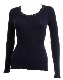 Camiseta mangas longa Oscalito 3416 (Azul)