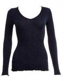 Camiseta mangas longa Oscalito 3486 (Azul)