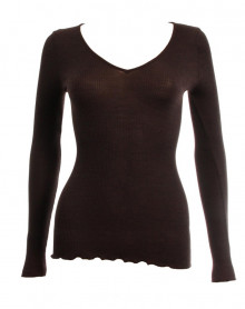Undershirt sleeves long Oscalito 3486 (Chocolat)