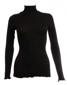Oscalito Funnel Collar Sweater 3429 (Black)