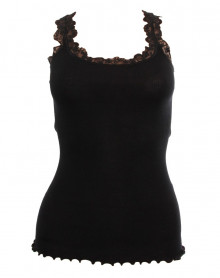 tank top lace wool & silk Moretta 5345