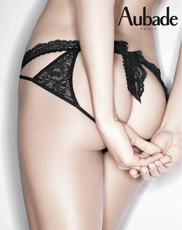 Cheeky panty Aubade Boite à Désir (NOIR)