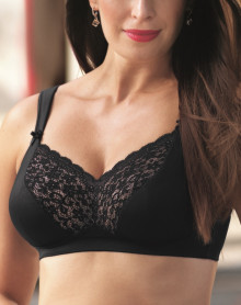 Bra Top Comfort Anita Havanna (black)