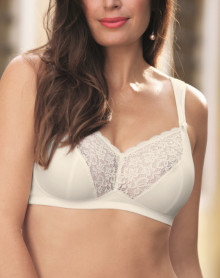 Bra without Underwire Top Comfort Anita Havanna (Crystal)