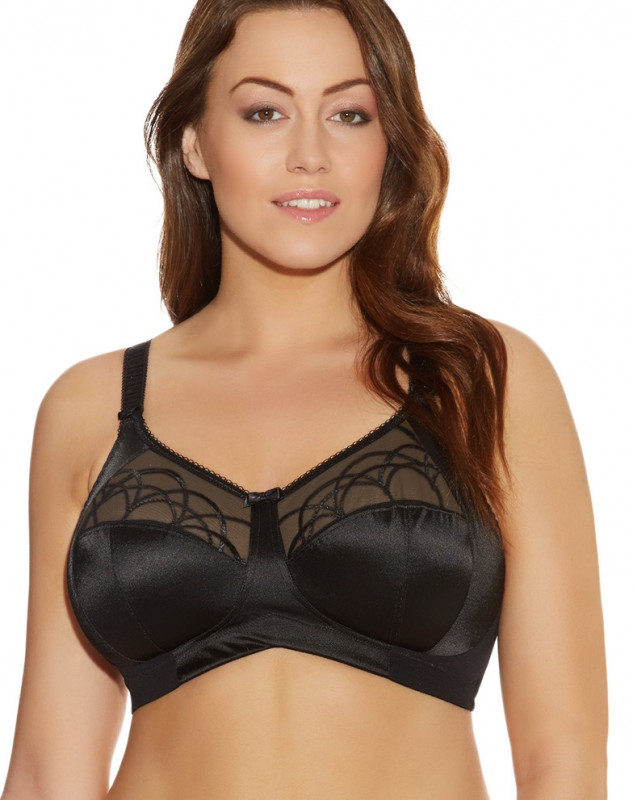 Bra without Underwire Elomi Cate (BLACK)