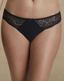 Brief Simone Pérèle Eden Chic (Black)