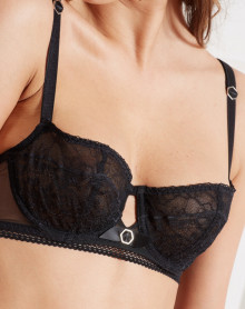 Push-up Bra beauty Barbara wild (black)
