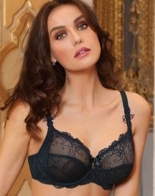 Underwired well-being bra Lise Charmel Soir De Venise (Bleu Venise)
