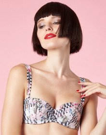 Bandeau Mousse Chantal Thomass Encens' Moi Graphic Flower