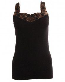 tank top lace wool & silk Moretta 5020