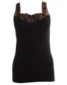 tank top lace wool & silk Moretta 5269