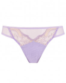 Tanga sexy Lise Charmel Instant Couture (Couleur Douceur)