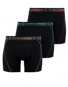 Boxers ATHENA Black (set of 3) (730) black / black / black