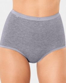 Maxi briefs Basic + (Pack of 4) grey
