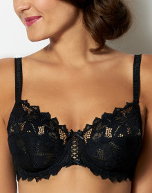 Underwired bra Arum by Sans Complexe (Black)