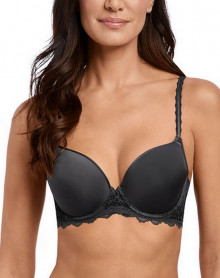Sujetador preformado Wacoal Lace Perfection (Charcoal)