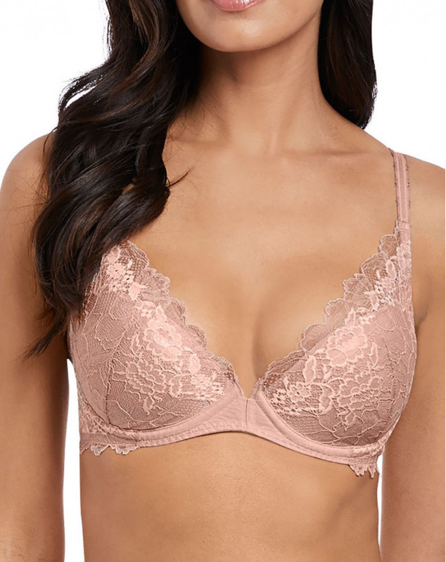 Sujetador push-up Wacoal Lace Perfection (Rose mist)