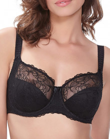 Bra Underwire side reinforcement Fantasie Estelle (Black)