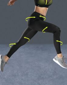 Compression Sport leggings Anita active (Black)