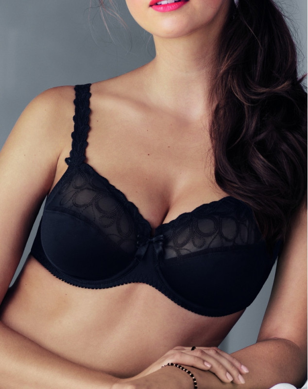 Bra fitting Rosa Faia Lupina (black)