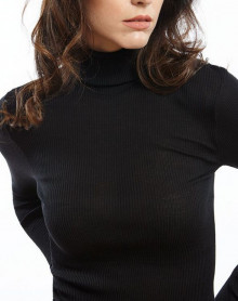 Sweater Turtleneck Oscalito 3438 Black