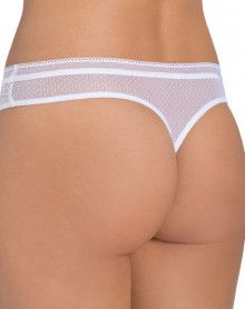 Tanga Triumph Beauty-Full Darling (Blanco)