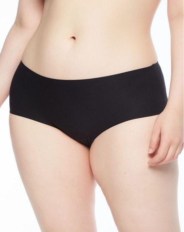 Shorties Chantelle Soft Stretch + Size (2+1 gratuito) (Negro)