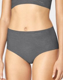 Culotte Maxi Sloggi Zero Feel Natural (Black comb.)