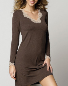 Nightdress long sleeves Antigel Simply Perfect