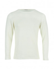 T shirt Col Rond Manches Longues Eminence (White)
