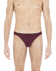 Hom mini slip Plume (Bordeaux)
