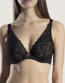 Triangle bra Confort Aubade Rosessence (Black)