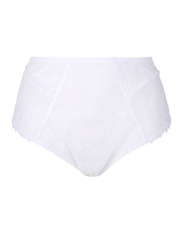 High waist brief Eprise Affinité Nature (White)