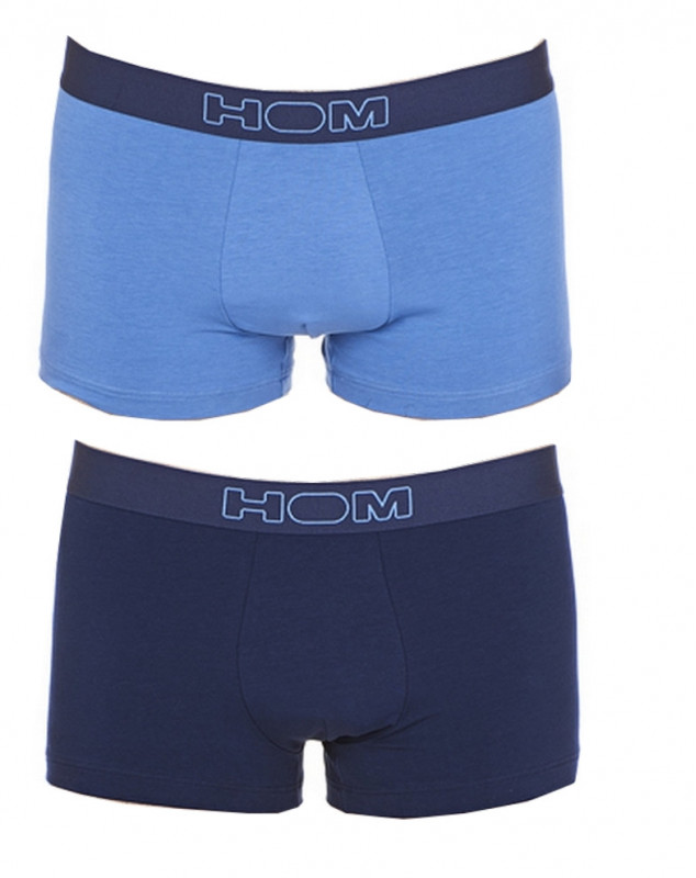 Lot de 2 Boxer HOM Colorful (Navy/Blue)