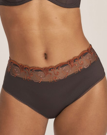 High waist brief Prima Donna Candle Light (Wengé)