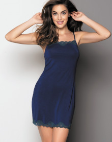 Nightdress thin straps Antigel Simply Perfect (Eclat Cobalt)