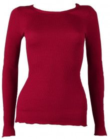 Maillot de corps col rond Oscalito 3446R couleur rouge.