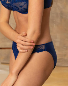 Fancy Briefs Éprise de Lise Charmel Guipure Charming (Dressing Bleu)