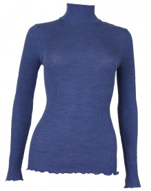 Oscalito Funnel Collar Sweater 3429 (denim)