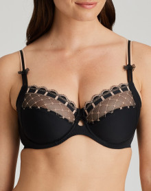 Prima Donna Twist A La Folie Underwired Bra (Celebration Black)
