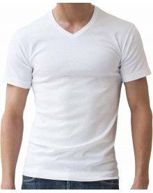 Tee-shirt Athéna Col V Bio (pack de 2)