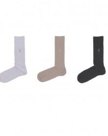 Chaussettes HOM coton peigné (3 paires)