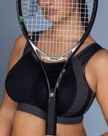 Sport bra Anita Extreme Control (Noir et Gris)