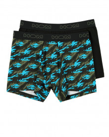 Boxers Long HOM Blue Camo (Lot de 2)